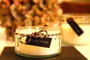Kerzen aus Wachsresten selber machen - Kerze im Einmachglas