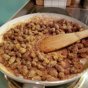 Gebrannte Mandeln Zubereitung 4