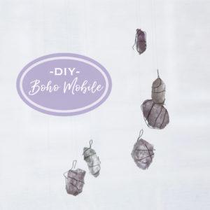 DIY Boho Mobile zum Selbermachen mit Anleitung