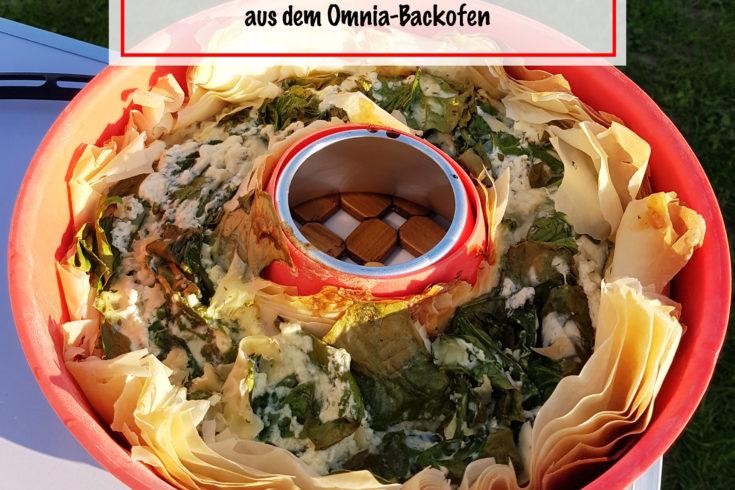 5-Zutaten-Quiche Campingrezept für den Omnia Backofen / www.chaosmitstil.de